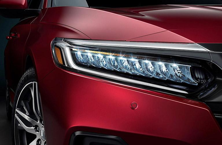2021 Honda Accord front headlight