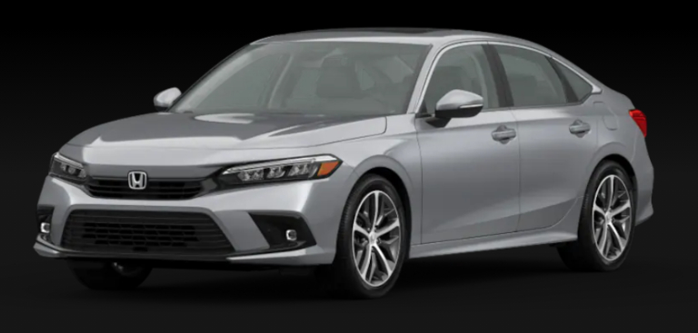 2022 Honda Civic Sedan Lunar Silver Metallic