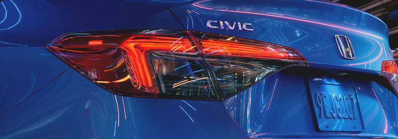 2022 Honda Civic Sedan backend