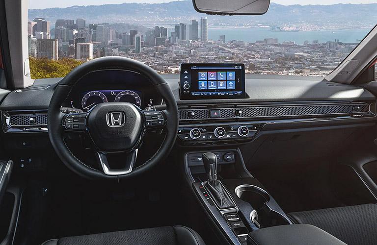 2022 Honda Civic Sedan dashboard