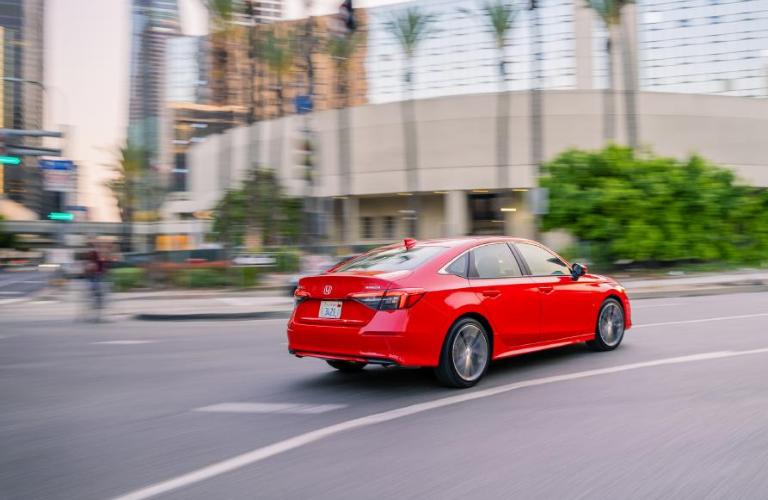 2022 Honda Civic Sedan Touring on a street