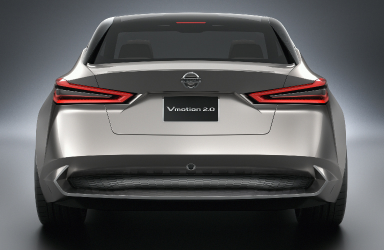 Nissan Vmotion 2.0 concept car exterior rear