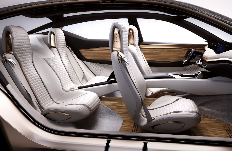 Nissan Vmotion 2.0 concept seating