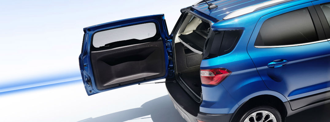 How much cargo space is in the 2018 Ford EcoSport