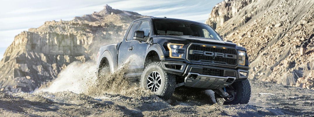 2017 Ford F-150 Raptor Terrain Management System