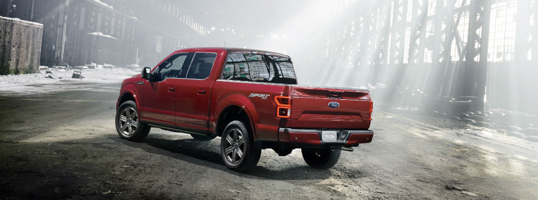 Exterior design chances for the 2018 F-150