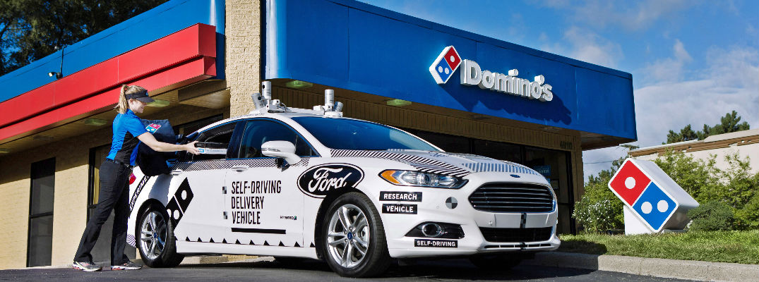 Self-driving pizza deliveries may be in the near future