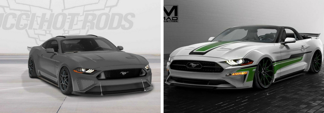 Images: Take a look at the Mustang concepts making their SEMA debut!