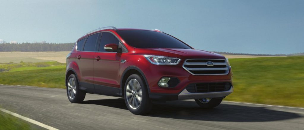 2018 Ford Escape Ruby Red