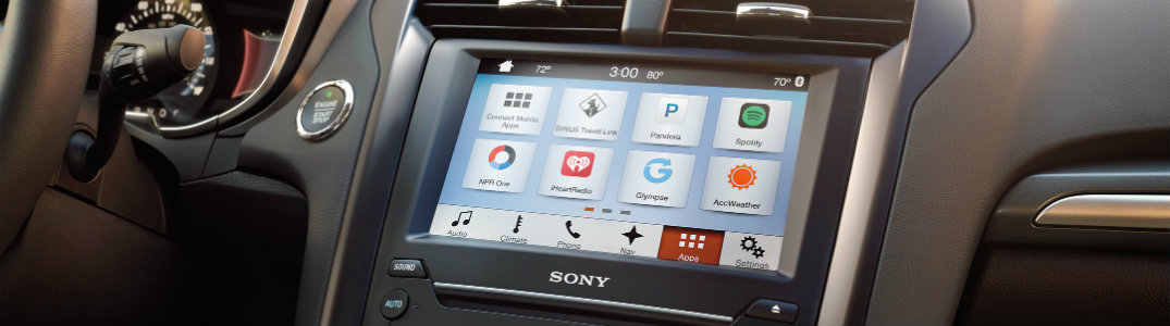 Pair your device to your Ford infotainment system