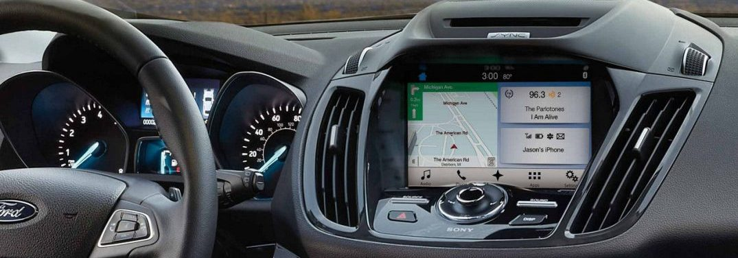 SYNC 3 Infotainment system in the 2018 Ford Escape