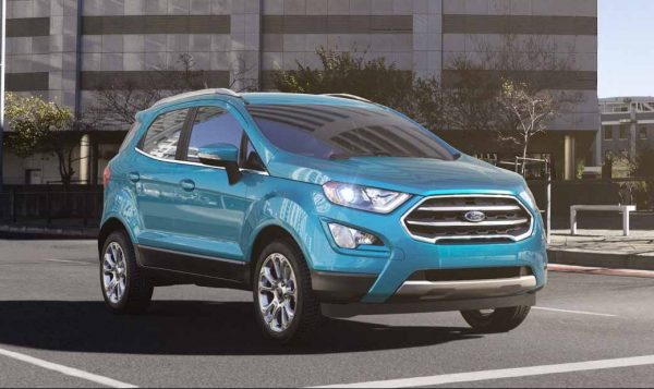 2018 Ford EcoSport in Blue Candy