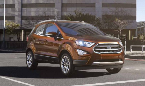Ford Ecosport In Canyon Ridge