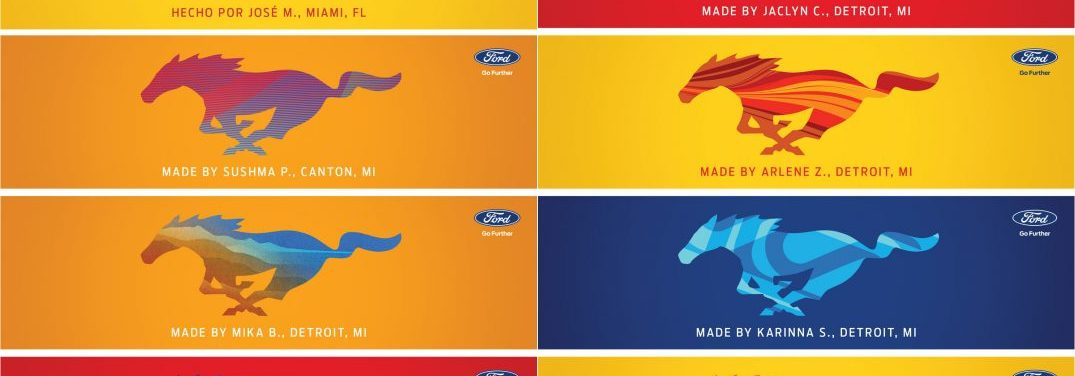 Ford offers custom Ford Mustang badging for a limited time