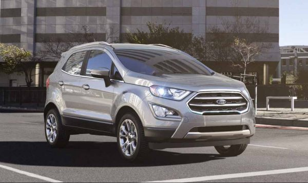 2018 Ford EcoSport in Moondust Silver