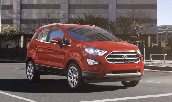 2018 Ford EcoSport in Race Red