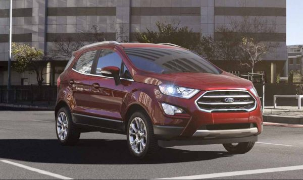 2018 Ford EcoSport in Ruby Red