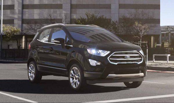2018 Ford EcoSport in Shadow Black
