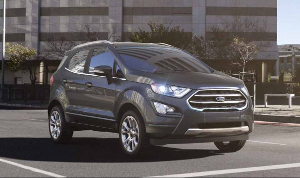 2018 Ford EcoSport in Smoke