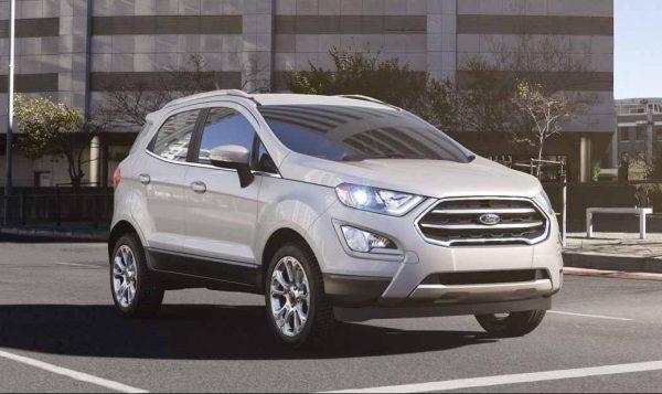 2018 Ford EcoSport in White Platinum