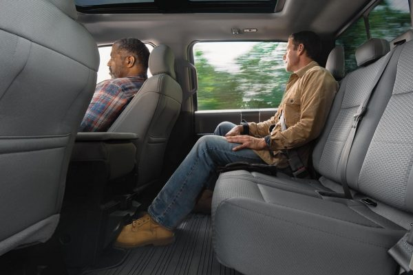 Ford F 150 Half Cab >> How much passenger space is there in the 2018 Ford F-150?
