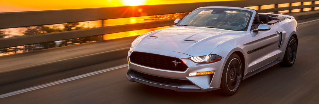 exterior of the 2019 Ford Mustang GT