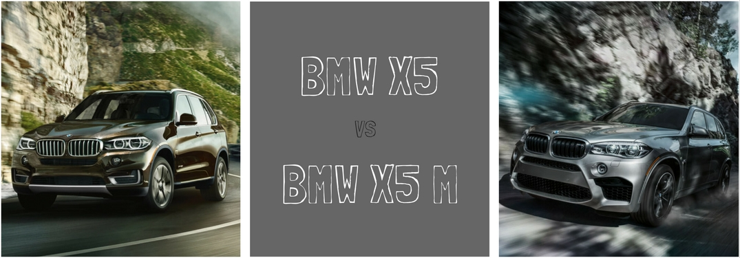 Performance differences between BMW X5 vs BMW X5 M