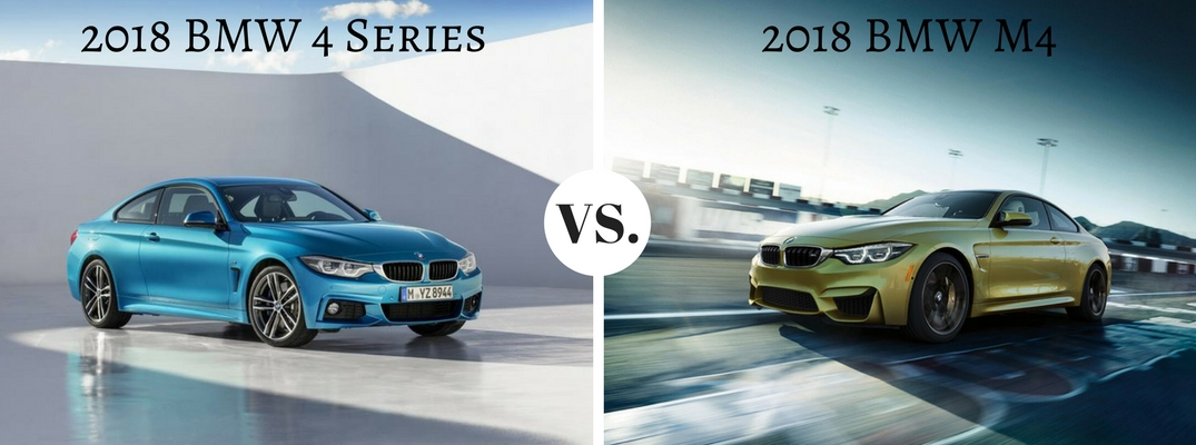 2018 BMW 4 Series vs 2018 BMW M4