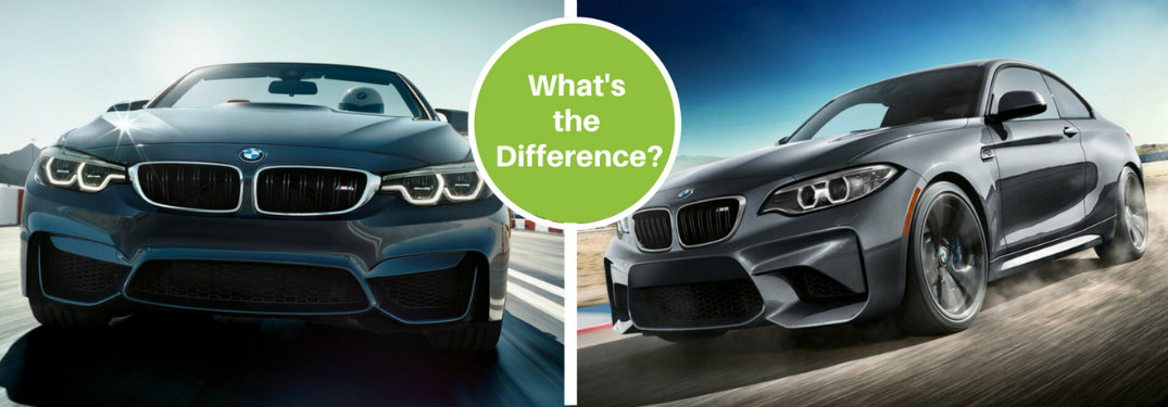 bmw m2 vs m4 series