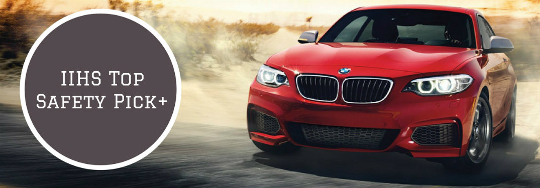 bmw iihs top safety pick 2 series