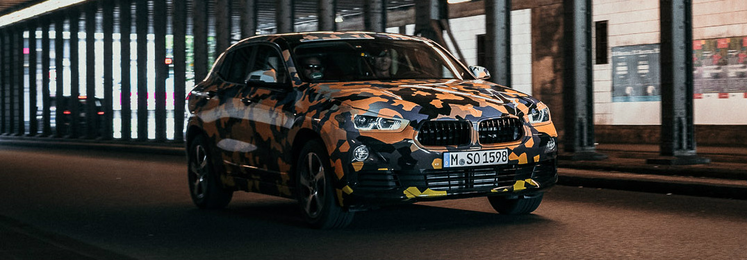 Watch a Preview of 2018 BMW X2 in Urban Jungle Camouflage Design