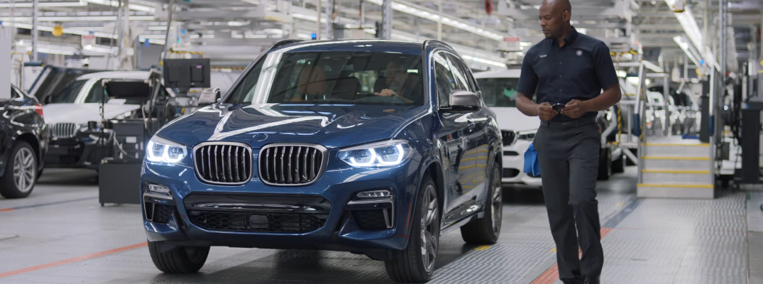 Where are BMW's SUVs built in the United States?