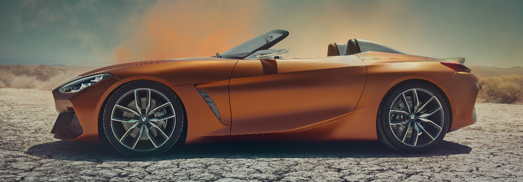 Will a production version of the BMW Concept Z4 be released?