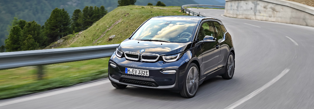 What is the range of the 2018 BMW i3