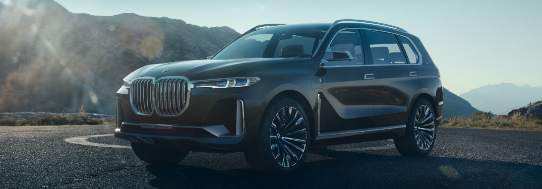What's the release date of the production BMW X7 iPerformance?