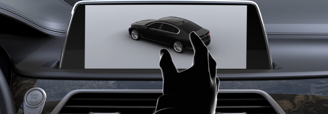 How Gesture Control in BMW 7 Series Works