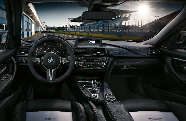 2018 Bmw M3 Cs Dashboard Front Grey And Black Front Seats O