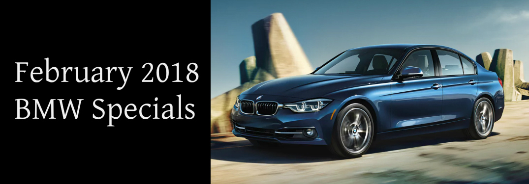 February 2018 BMW Specials Title and Blue 2018 BMW 3 Series