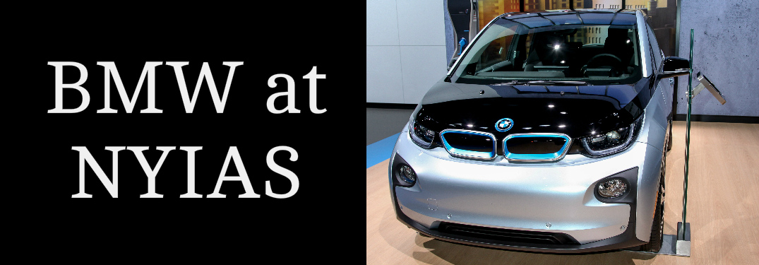 BMW at NYIAS Title and BMW i3