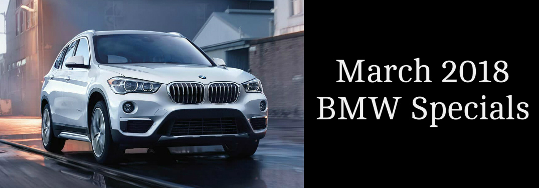 March 2018 BMW Specials Title and White 2018 BMW X1