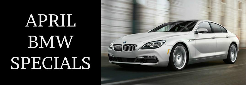 April 2018 BMW Specials Glendale CA