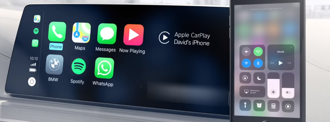 BMW ConnectedDrive with Apple CarPlay and an iPhone