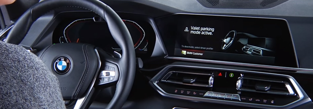 What is the Valet Parking Mode in BMW iDrive 7?