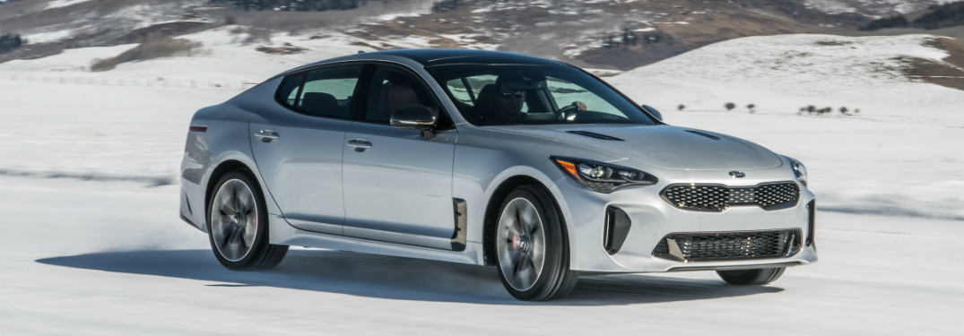 Engine And Performance Specs For The 2018 Kia Stinger Gt