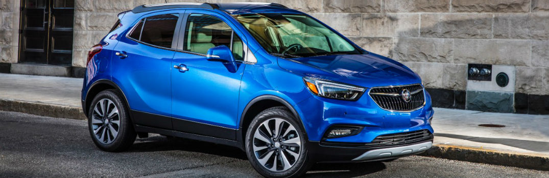 2018 buick encore on the road