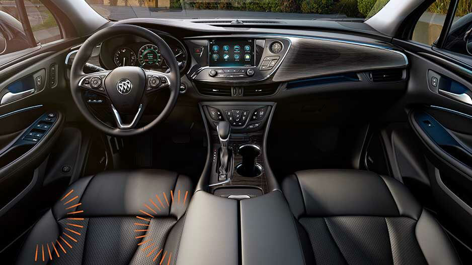 High Quality 2018 Buick Envision Interior