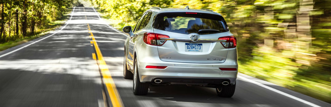 2018 buick envision on the road