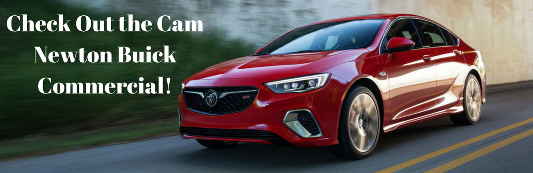 2018 Buick Regal with text beside