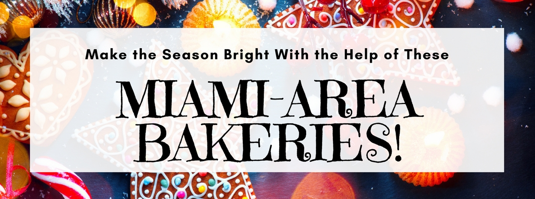 Make the season bright with the help of these Miami-area bakeries (with pretty holiday cookies in the background