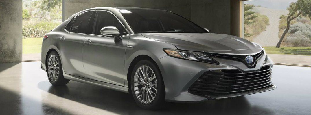 Silver-colored 2019 Toyota Camry